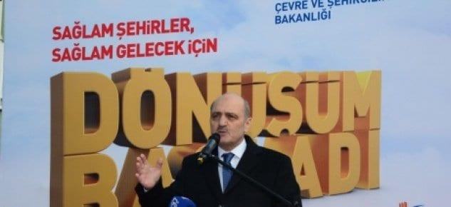 Erdoğan Bayraktar: Törenle yıkım yapacağız