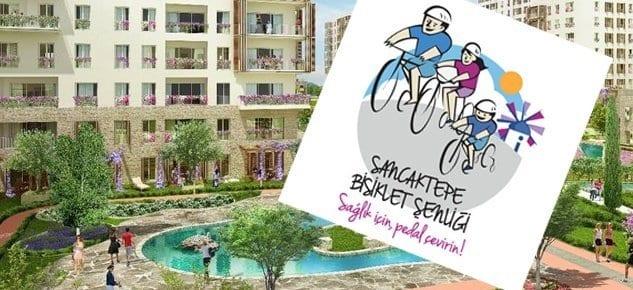 Eviya, Sancaktepe'deki bisikletli yaşama destek oluyor!