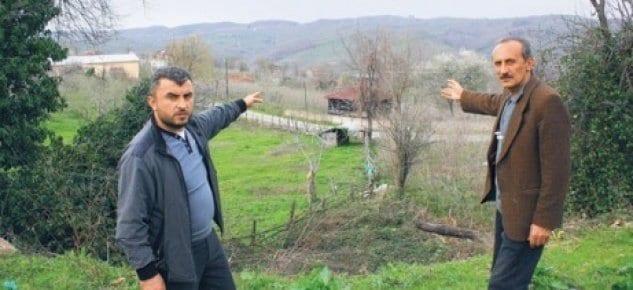 5 köyün arazisine banka'dan haciz