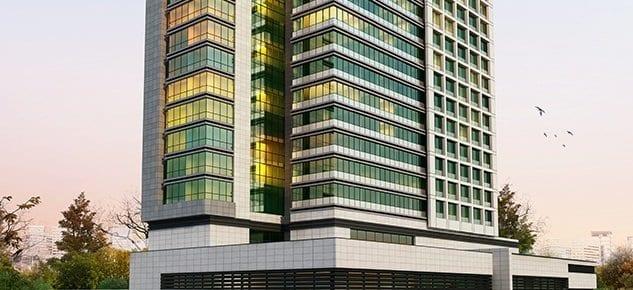 Radisson Blu Hotel Kayseri'de yükseliyor