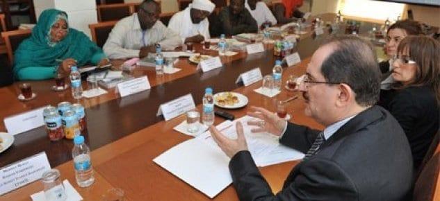 Sudanlılar TOKİ'yi ziyaret etti