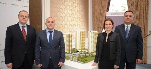 Özak GYO, lansman yapmadan 546 dairenin dörtte biri sattı
