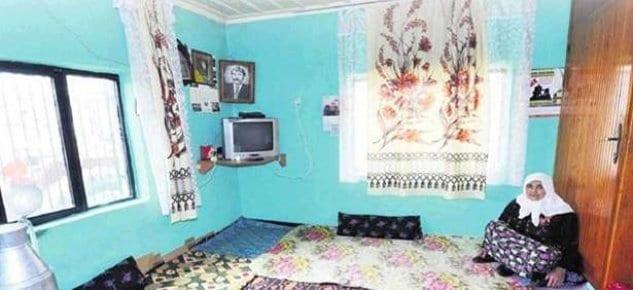 Şehit annesi bu evde yaşıyor!