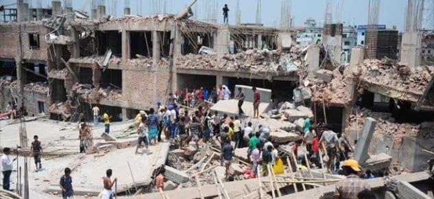 Bangladeş'te bina çöktü: En az 82 ölü