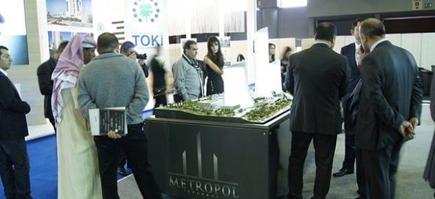 Metropol İstanbul fuarın en büyük standıyla EMLAK 2013'ün odak noktası oldu