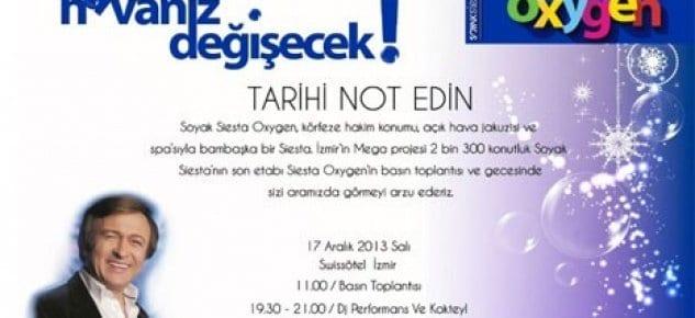 Soyak Siesta Oxygen 17 Aralık'ta satışa çıkıyor