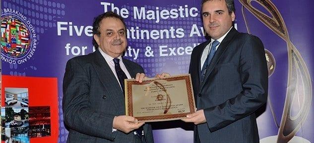 """EgeYapı Group'a """"Beş Büyük Kıta Kalite ve Mükemmellik"""" Ödülü"""