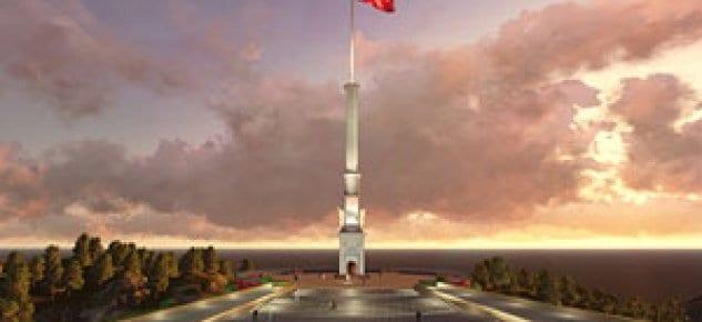 TOKİ Sarıkamış'ta 99 metrelik Şehitler Anıtı inşaa edecek