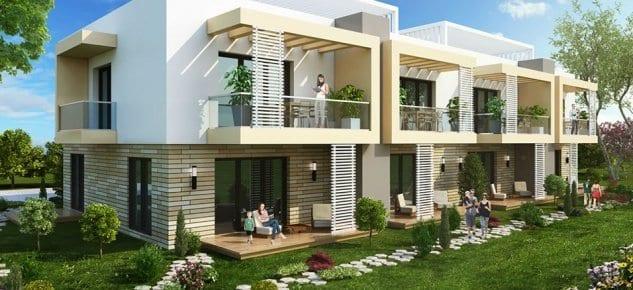 Korumodern Villaları'nda 350 Bin TL'den başlıyor