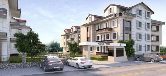 Aura Park Evleri'nde 85 Bin Liraya Satılık 2+1