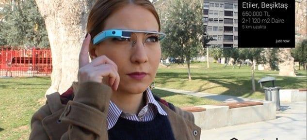 Türkiye'de Google Glass'a Özel İlk Emlak Uygulaması