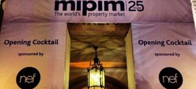 MIPIM'in 25. yılında açılış gecesinde yine Nef imzası
