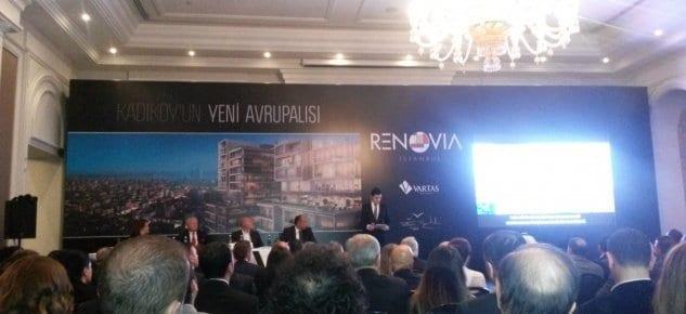 Renovia İstabul basın toplantısı