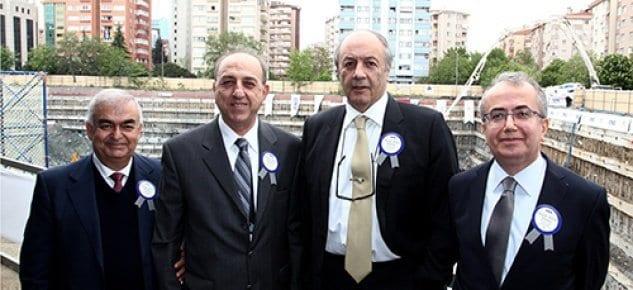 Anadolu Grubu Temel Atma Töreni