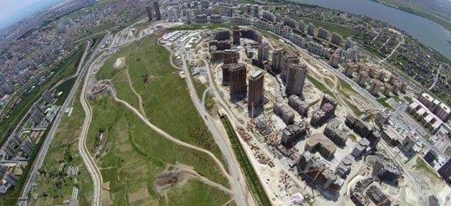 Tema İstanbul havadan görüntüler!