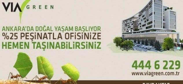 Ankara iş dünyası VIA Green'de buluşuyor