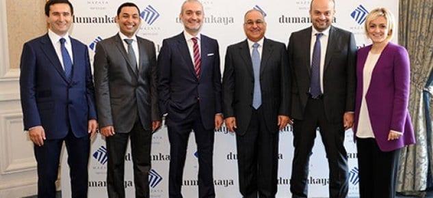Dumankaya İnşaat Al Mazaya Holding ile işbirliği anlaşması imzaladı