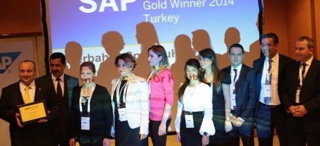 SAP Forum'a Platin Sponsor olarak destek verdi.