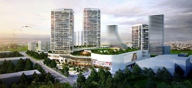 Sur Yapı'dan Bursa'ya 1.3 milyar TL'lik konut ve alışveriş merkezi yatırımı