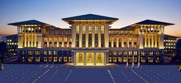 AYM'den Cumhurbaşkanlığı Sarayı için karar