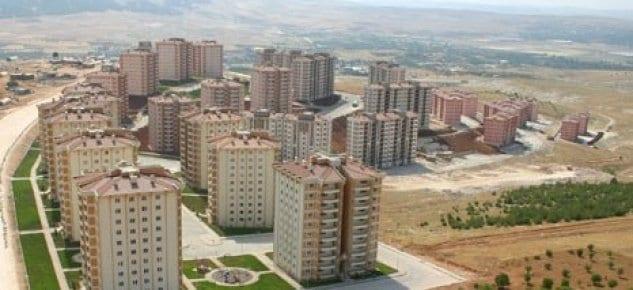 TOKİ Mamak''ta 1.219 konut yapacak