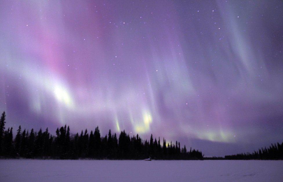 Alaska'da Kuzey Işıkları