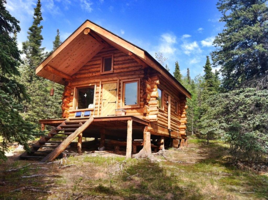 Alaska Evleri küçük ev