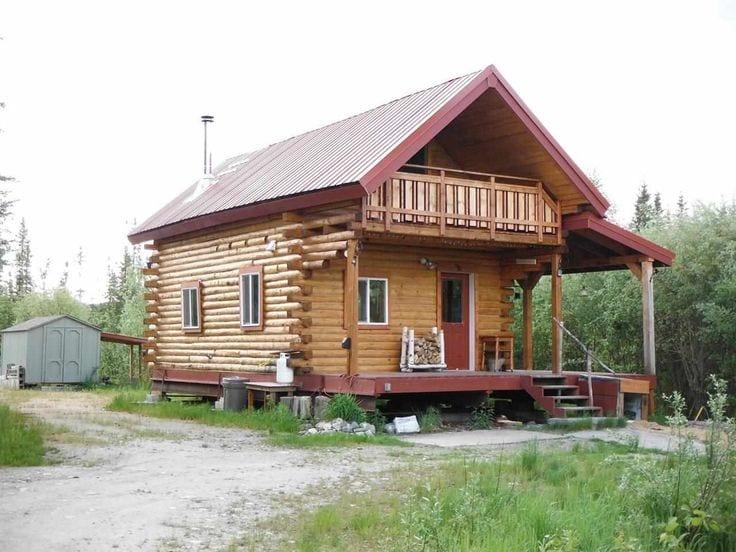 Alaska Kütük Ev