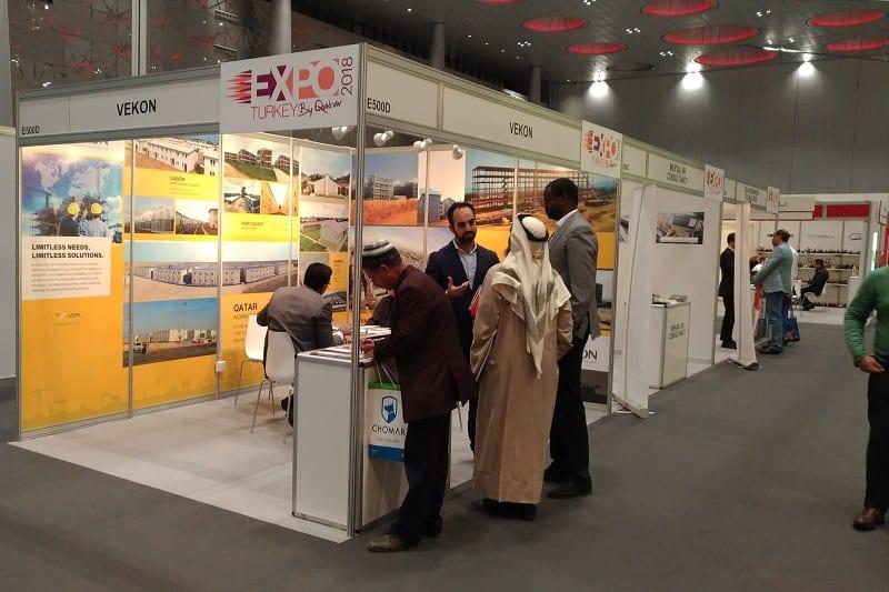 Vefa 2.Expo Turkey by Qatar'da iş dünyasıyla buluştu
