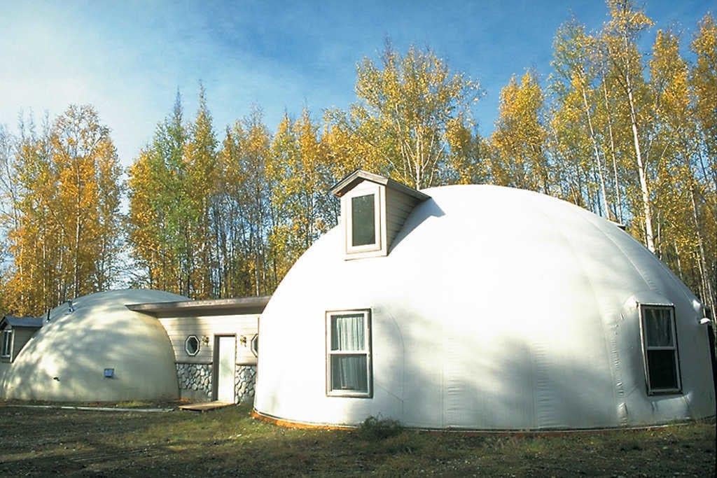 Alaska Yuvarlak Ev