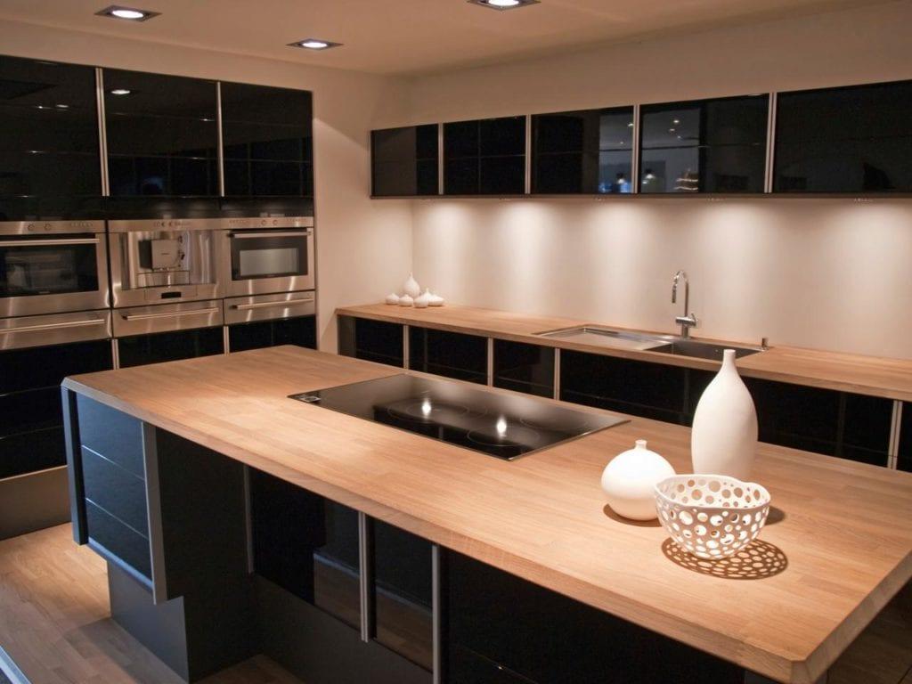 Ahşap mutfak tezgahı