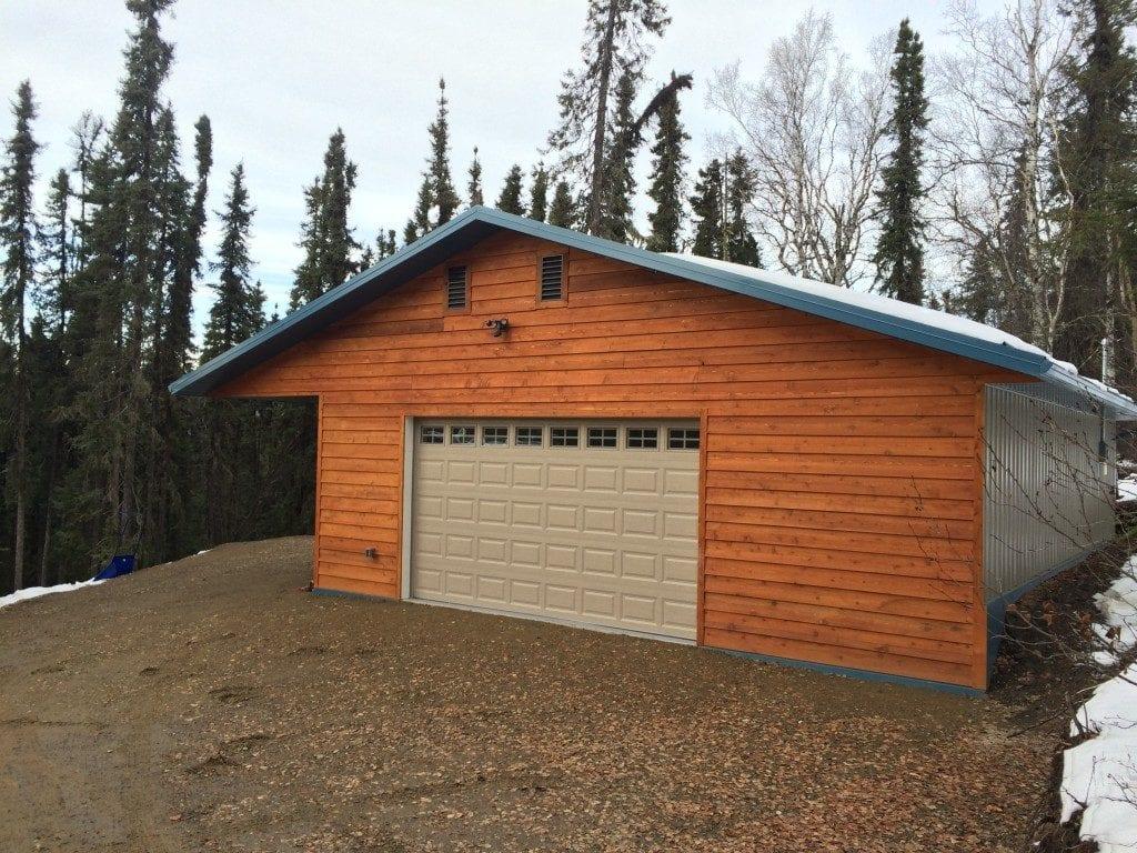 Alaska da garaj