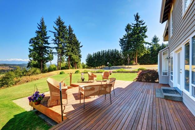 Alaska Evlerinde veranda örnekleri