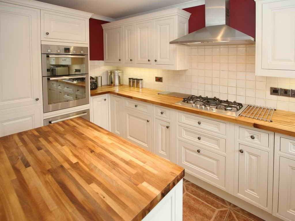 Bambu mutfak tezgahı