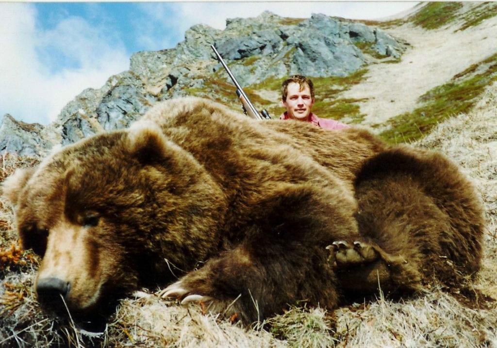 Alaska da ayı avı