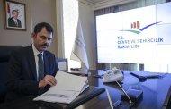 Çevre Bakanı Murat Kurum inşaat patronlarıyla görüştü!