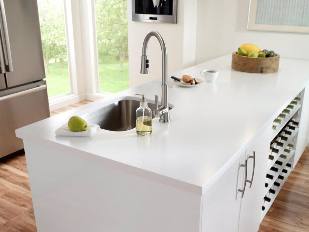 Corian mutfak tezgahı