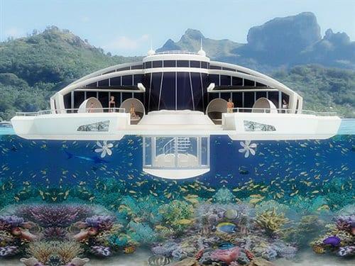 Yüzen Ekolojik Evler