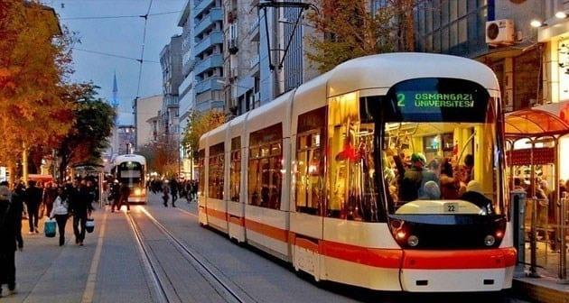 Eskişehir Tramvay Durakları