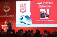 Gebze-Darıca Metrosu İçin 20 Ekim'de Temel Atılıyor