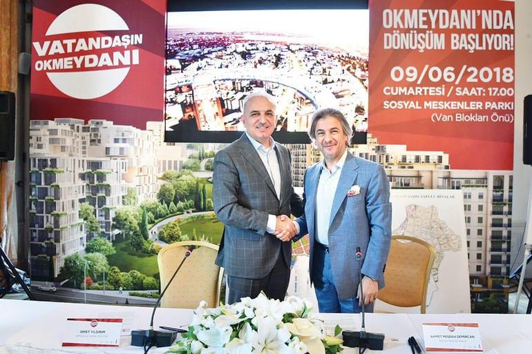 Okmeydanı kentsel dönüşüm projesi!