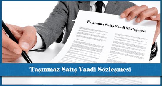 Satış vaadi sözleşmesi nedir?