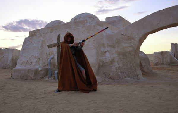 'Yıldız Savaşları'ndan Luke Skywalker'in Evi: Matmata yer altı şehri