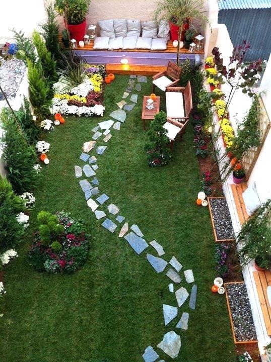 Küçük bahçe tasarımı nasıl olmalı?